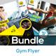 Fitness / Gym Flyer Bundle V9