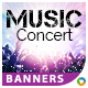 Music Concert Banners