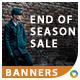 End of Season Sale Banners