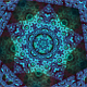 Spinning Into A Kaleidoscopic Star Fractal - VideoHive Item for Sale