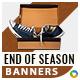 End of Season Banners