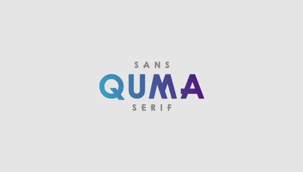 QUMA - Sans-Serif Fonts