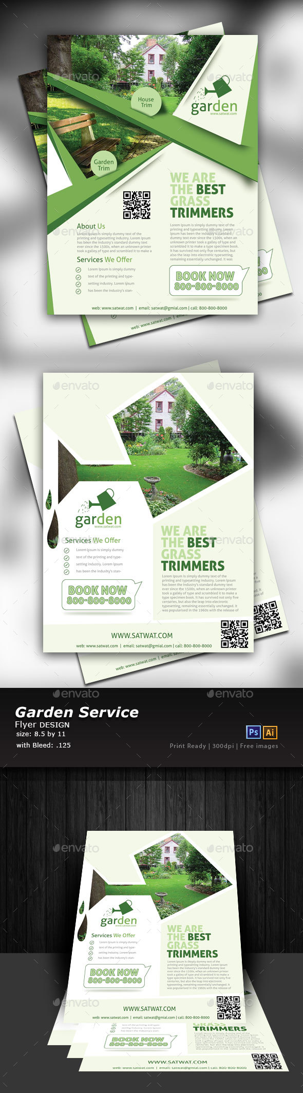 Lawn Care Flyers - Commerce Flyers