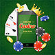 Casino Online Mobile Concept. Vector