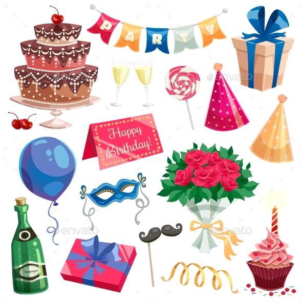 Birthday Party Set - Birthdays Seasons/Holidays