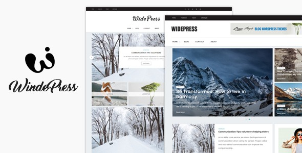 Wide – Magazine & Blog WordPress Themes
