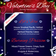 Valentines Day Menu Template V3 - GraphicRiver Item for Sale