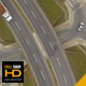 Fly Above a Road Intersection - VideoHive Item for Sale