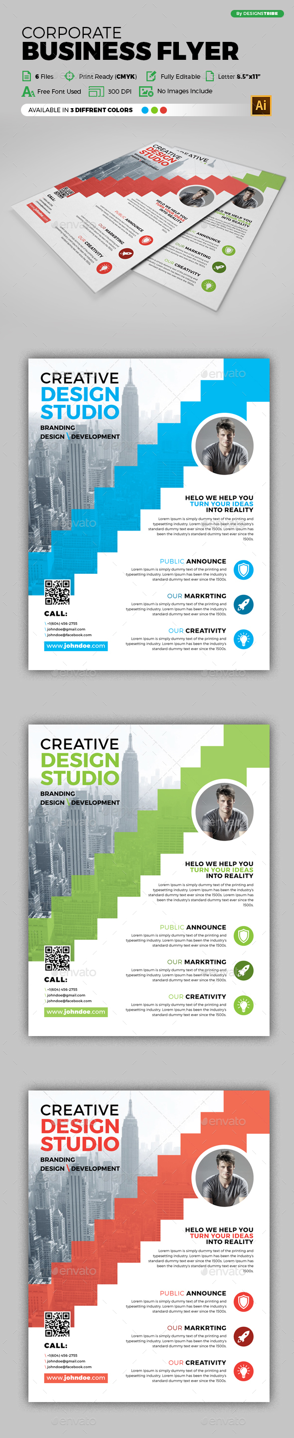 Flyer – Multipurpose 270 - Flyers Print Templates