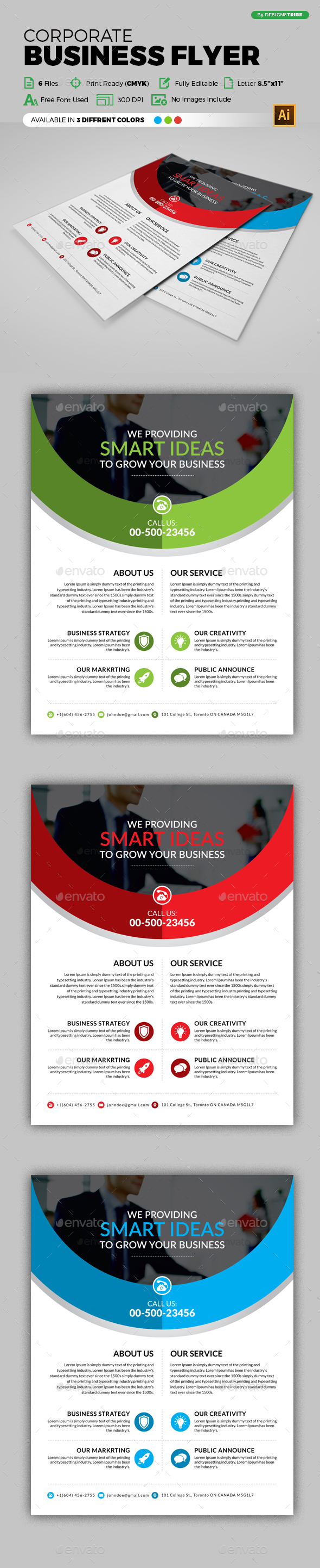 Flyer – Multipurpose 271 - Corporate Flyers