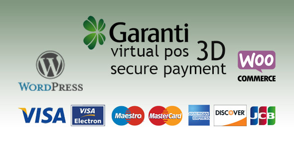 Garanti 3D Virtual POS Gateway for WooCommerce