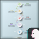 Circle Connection Timeline Infographics Nulled