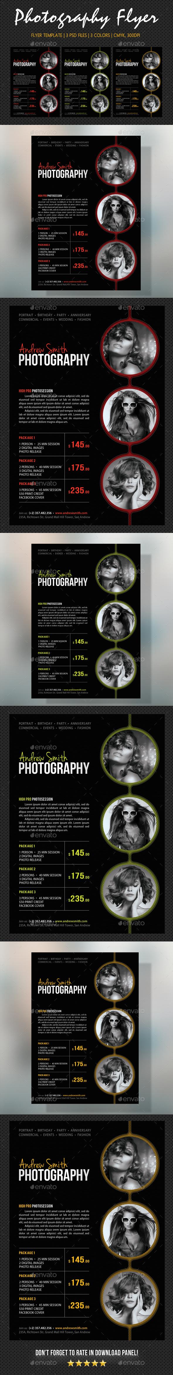 Photography Studio Flyer 23 - Commerce Flyers