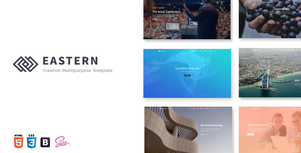 Eastern – Creative Multipurpose Template