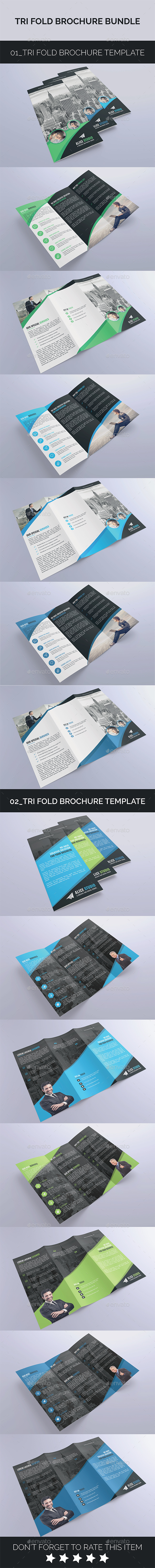 Tri-Fold Bundle 2in1 - Corporate Brochures