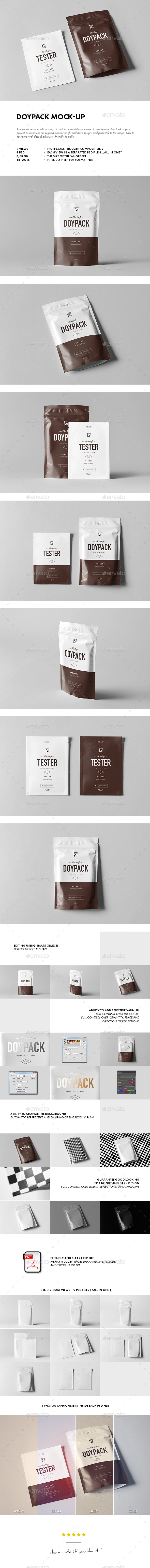 Doypack Mock-up - Miscellaneous Packaging