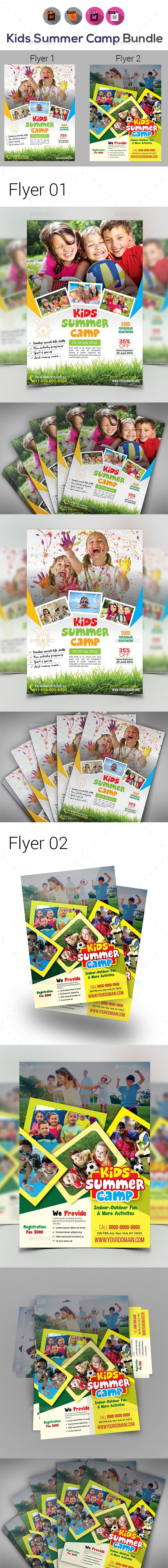 Kids Activities Flyer Bundle - Corporate Flyers