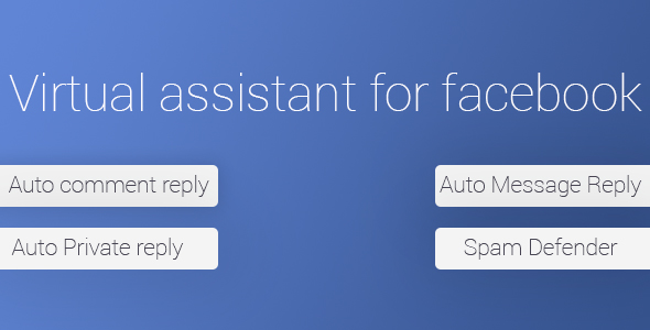 Virtual Assistant For Facebook - CodeCanyon Item for Sale