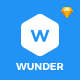 Wunder - Multi-Purpose Mobile UI Kit For Sketch Nulled