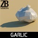 Lowpoly Garlic - 3DOcean Item for Sale