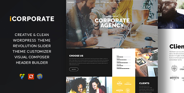 iCorporate – Multipurpose Creative  Corporate