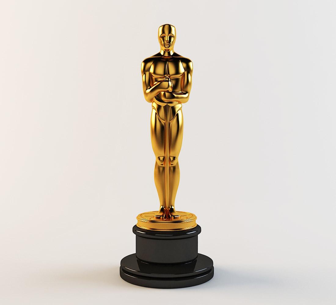 3d Model Oscar Statuette By Pat460 3docean