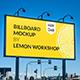 Billboard Mockup for Advertising - GraphicRiver Item for Sale