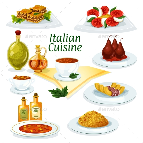 List of synonyms and antonyms of the word italian food for Italian food list