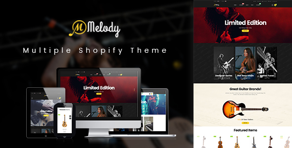 Ap Melody Drag And Drop Shopify Theme