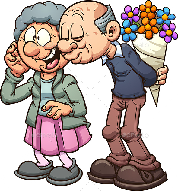 Grandparents in Love - People Characters