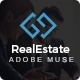 RealArea - Adobe Muse RealEstate Template - ThemeForest Item for Sale