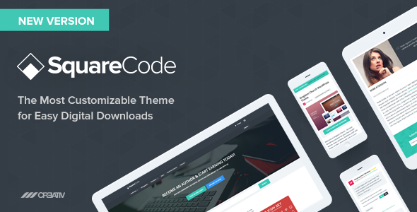 SquareCode - Marketplace for Easy Digital Downloads - eCommerce WordPress