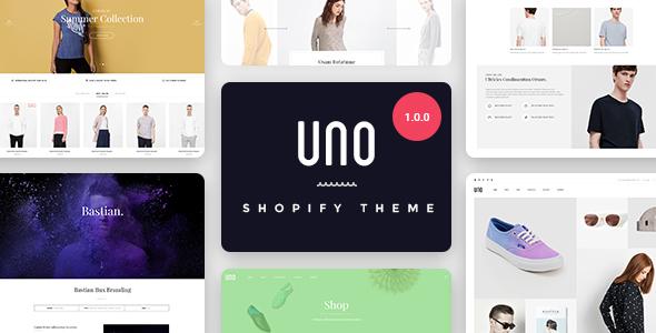 UNO – Multi Store Responsive Shopify Theme