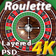 European Roulette Table Pack 4K - GraphicRiver Item for Sale