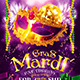 Mardi Gras Party Flyer vol.4 - GraphicRiver Item for Sale