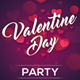 Valentine Day Party Flyer - GraphicRiver Item for Sale