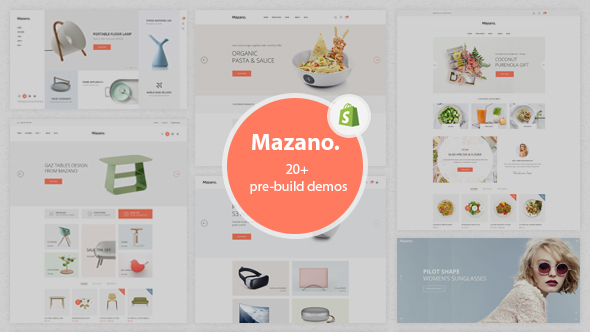 Mazano – Ultimate Responsive Shopify Theme