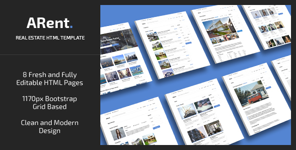 ARent — Real Estate Agency HTML Template
