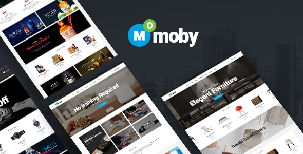 Moby - WordPress Multipurpose Theme - WooCommerce eCommerce