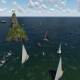 Island Ships Landscape