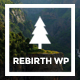 Rebirth - Freelance & Agency Portfolio WordPress Theme
