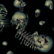 Falling Bones Loop - VideoHive Item for Sale