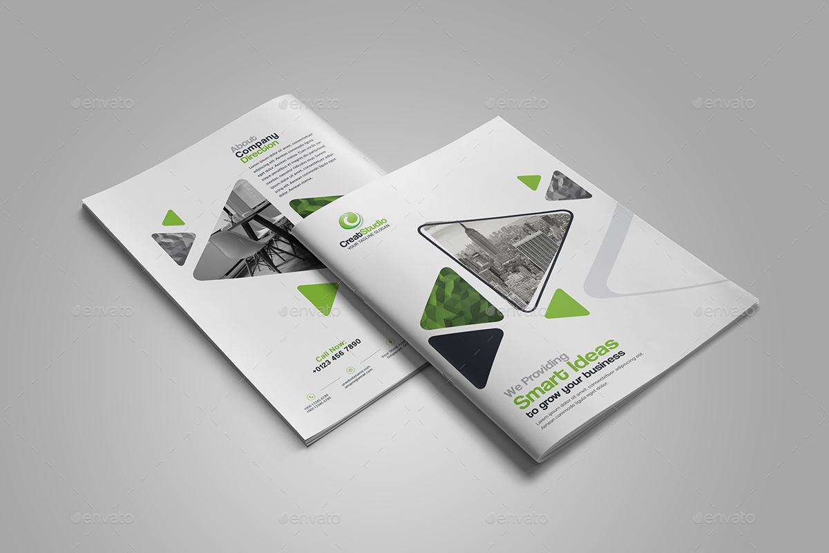 business bi fold brochure by generousart graphicriver