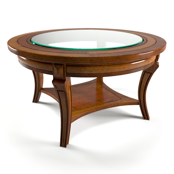 Puccini Ciliegio Table - 3DOcean Item for Sale