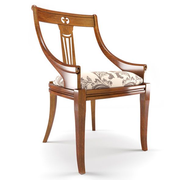 Puccini Ciliegio chair - 3DOcean Item for Sale
