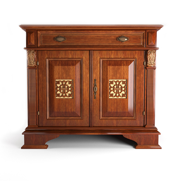Puccini Ciliegio sideboard - 3DOcean Item for Sale