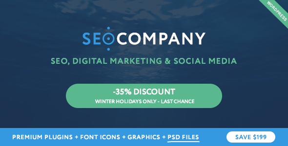 SEO - Seo Company - Marketing & Seo WordPress Theme