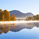 Autumn Fog River - VideoHive Item for Sale