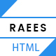 RAEES - Multipurpose HTML5 Responsive Template - ThemeForest Item for Sale