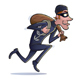 Thief Running with Bag of Loot - GraphicRiver Item for Sale